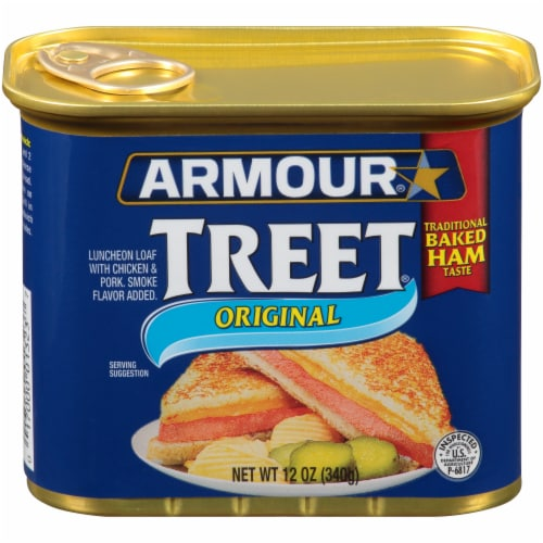 Armour Original Treet Canned Meat Perspective: front