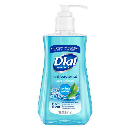 Dial Spring Water Liquid Hand Soap Perspective: front
