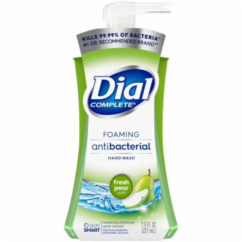 Dial Complete Fresh Pear Foaming Antibacterial Hand Wash Perspective: front