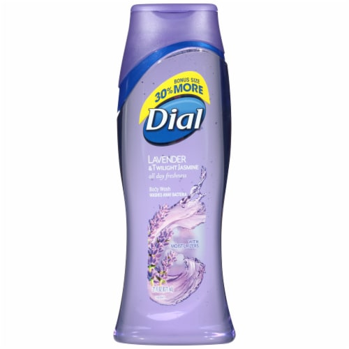 Dial Lavender & Oatmeal Body Wash Perspective: front