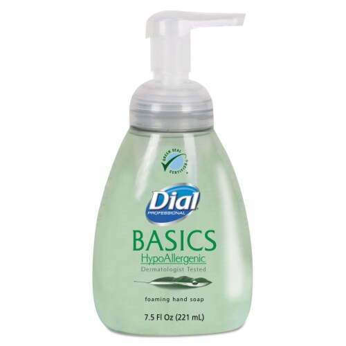 Dial Foam Hand Soap,7.5 oz,Honeysuckle,PK8  DIA 06042 Perspective: front