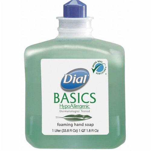 Dial Foam Hand Soap,1000mL,Aloe Vera,PK6  06060 Perspective: front