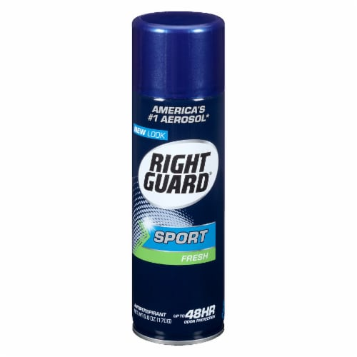 Right Guard Sport Aerosol Fresh Deodorant Perspective: front