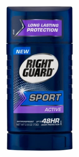 Right Guard 3D Sport Invisble Solid Deodorant Perspective: front
