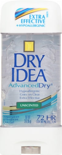 Dry Idea Advanced Dry Unscented Clear Gel Deodorant Perspective: front