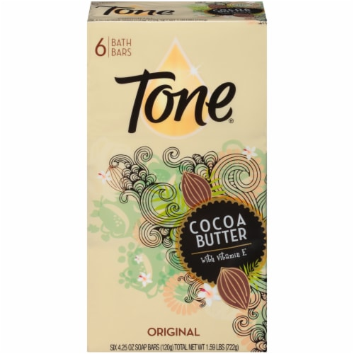 Tone Original Cocoa Butter Bar Soap Perspective: front