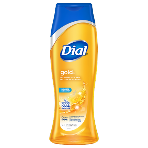 Dial Gold Hydrating Body Wash Perspective: front