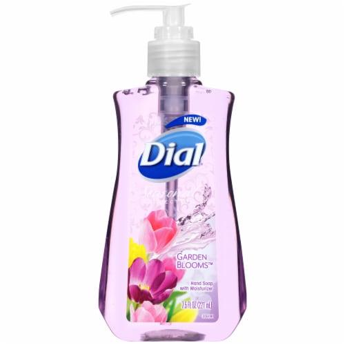 Dial Seasonal Collection Garden Blooms Liquid Hand Soap Perspective: front