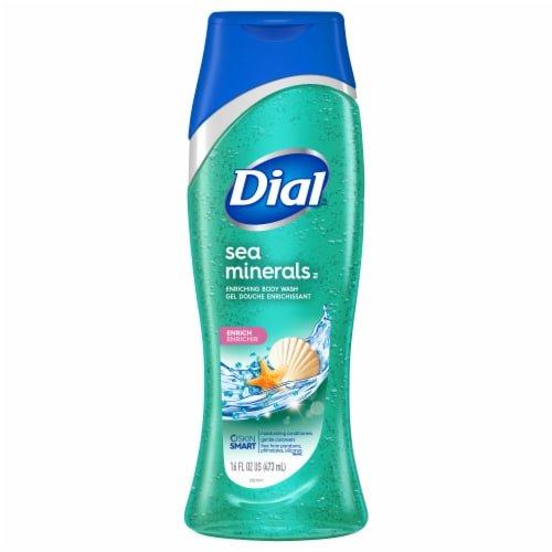 Dial Sea Minerals Enriching Body Wash Perspective: front