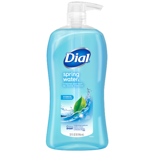 Dial Spring Water Body Wash Perspective: front