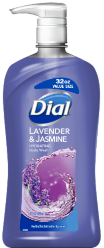 Dial Lavender & Jasmine Hydrating Body Wash Perspective: front