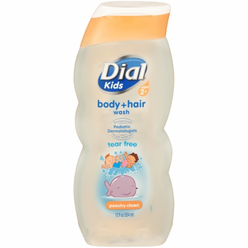 Dial Kids Peachy Clean Tear Free Body Wash Perspective: front
