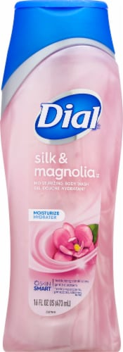 Dial Silk & Magnolia Moisturizing Body Wash Perspective: front