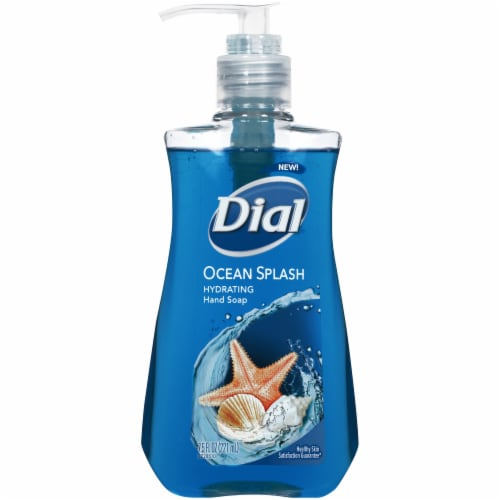 Dial Ocean Splash Hydrating Liquid Hand Soap Perspective: front