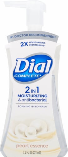 Dial Complete 2-In-1 Pearl Essence Foaming Moisturizing & Antibacterial Hand Wash Perspective: front