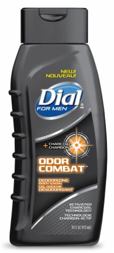 Dial For Men Odor Combat Deodorizing Body Wash Perspective: front