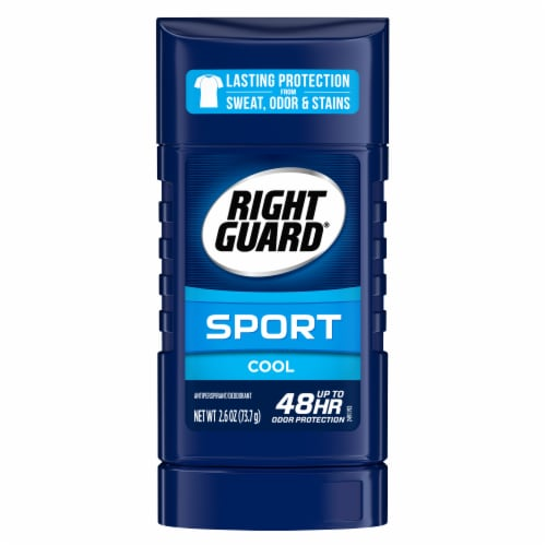 Right Guard Sport Cool Antiperspirant Deodorant Stick Perspective: front