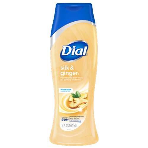Dial Silk & Ginger Body Wash Perspective: front