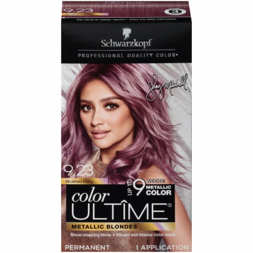 Schwarzkopf Color Ultime Brushed Berry 9.23 Hair Color Perspective: front