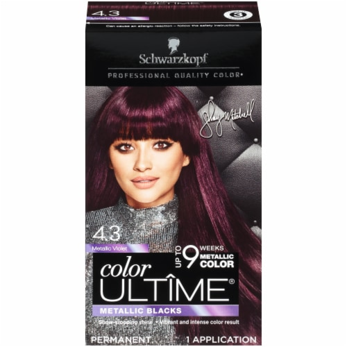 Schwarzkopf Color Ultime Metallic Violet Hair Color Perspective: front