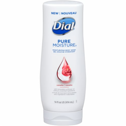 Dial Pure Moisture Camellia Moisturizing Body Wash Perspective: front