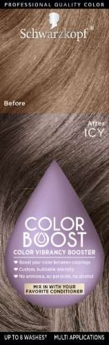 Schwarzkopf Color Boost Icy Color Vibrancy Booster Hair Color Perspective: front