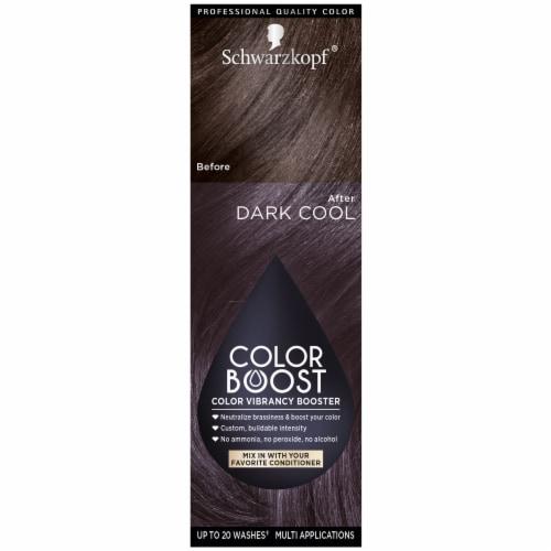 Schwarzkopf Color Boost Dark Cool Hair Color Perspective: front