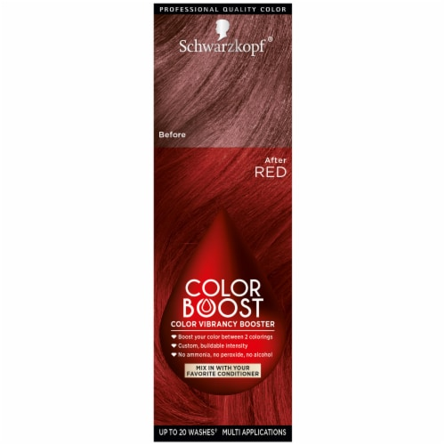 Schwarzkopf Color Boost Red Color Booster Perspective: front