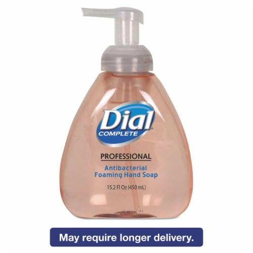 Dial Foam Hand Soap,15.2 oz.,Original,PK4  98606 Perspective: front