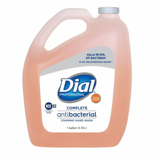 Dial Complete Foam Hand Soap,1 gal.,Original,PK4  99795 Perspective: front