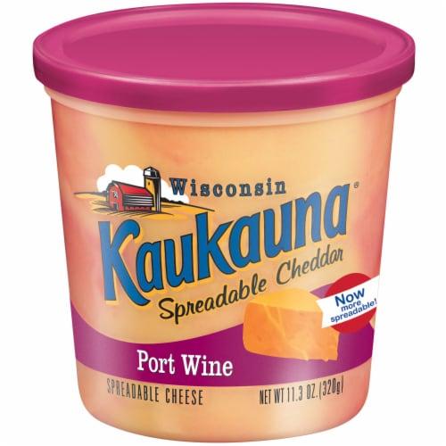 Kaukauna Port Wine Cheese Spread Perspective: front