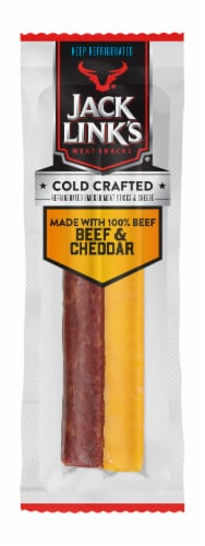 Jack Link's Original Beef & Cheddar Cheese Sticks Perspective: front