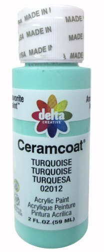 Delta Creative Ceramcoat Acrylic Paint - Turquoise Perspective: front