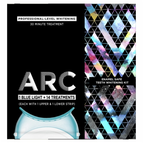 ARC Blue Light Teeth Whitening Kit Perspective: front