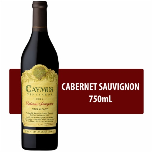 Caymus Vineyards Cabernet Sauvignon Red Wine Perspective: front