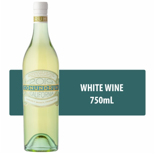 Caymus Vineyards Conundrum White Wine Perspective: front