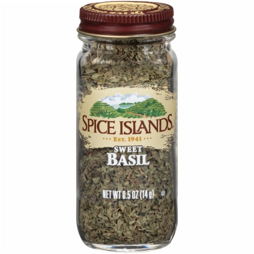 Spice Islands Sweet Basil Perspective: front