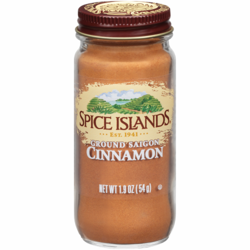 Spice Islands Ground Saigon Cinnamon Perspective: front