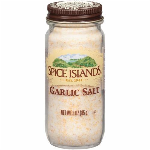 Spice Islands Garlic Salt Shaker Perspective: front