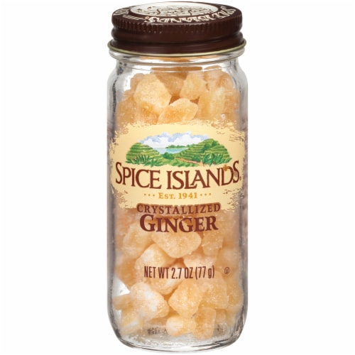 Spice Islands Crystallized Ginger Perspective: front