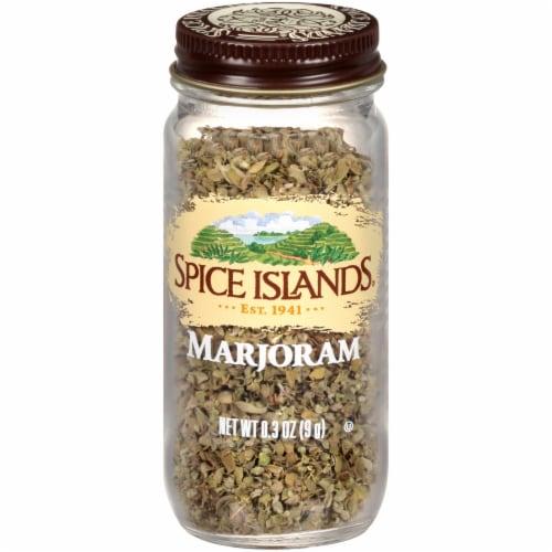 Spice Islands Marjoram Perspective: front