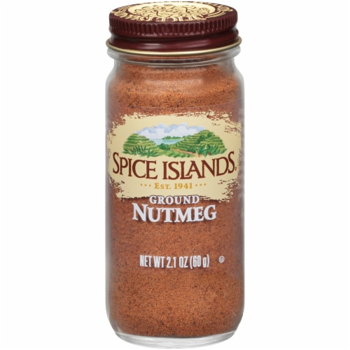 Spice Islands Ground Nutmeg Perspective: front