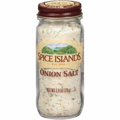 Spice Islands Onion Salt Perspective: front