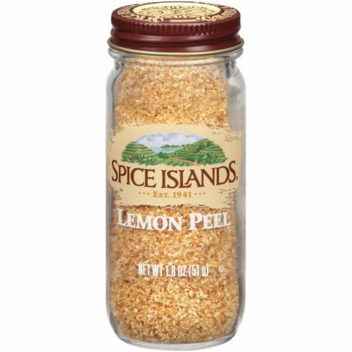 Spice Islands Lemon Peel Perspective: front