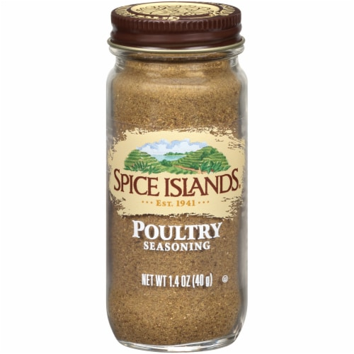 Spice Islands Poultry Seasoning Perspective: front