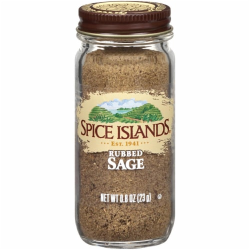 Spice Islands Rubbed Sage Perspective: front