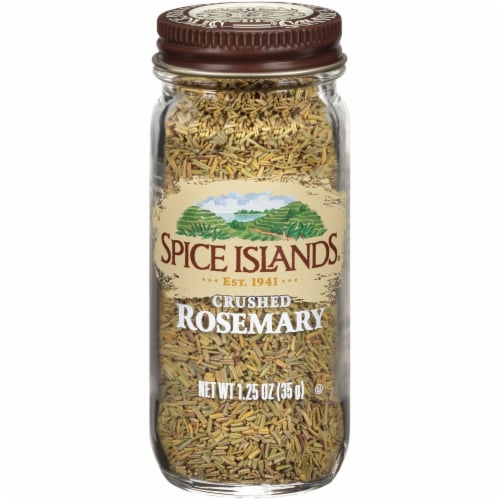 Spice Islands Crushed Rosemary Perspective: front
