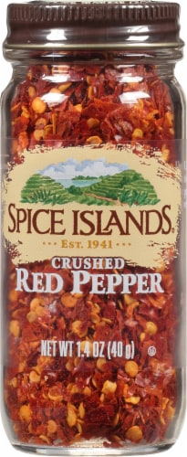 Spice Islands Crushed Red Pepper Perspective: front