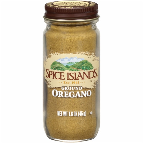 Spice Islands Ground Oregano Perspective: front