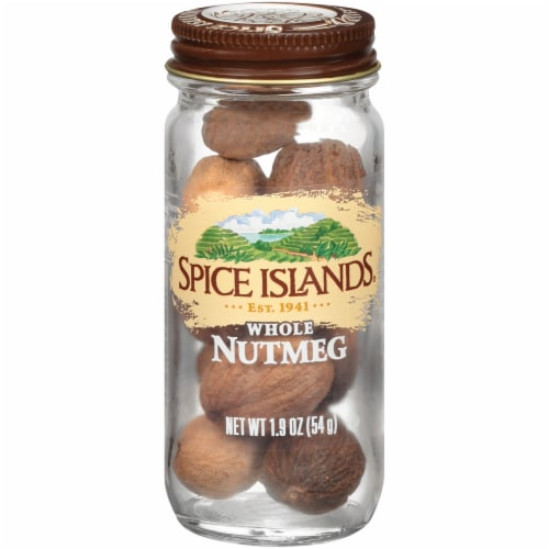 Spice Islands Whole Nutmeg Perspective: front